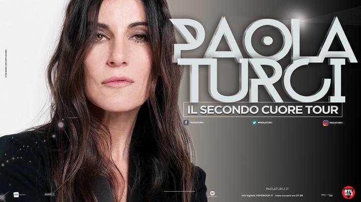 PAOLA TURCI IL SECONDO CUORE TOUR