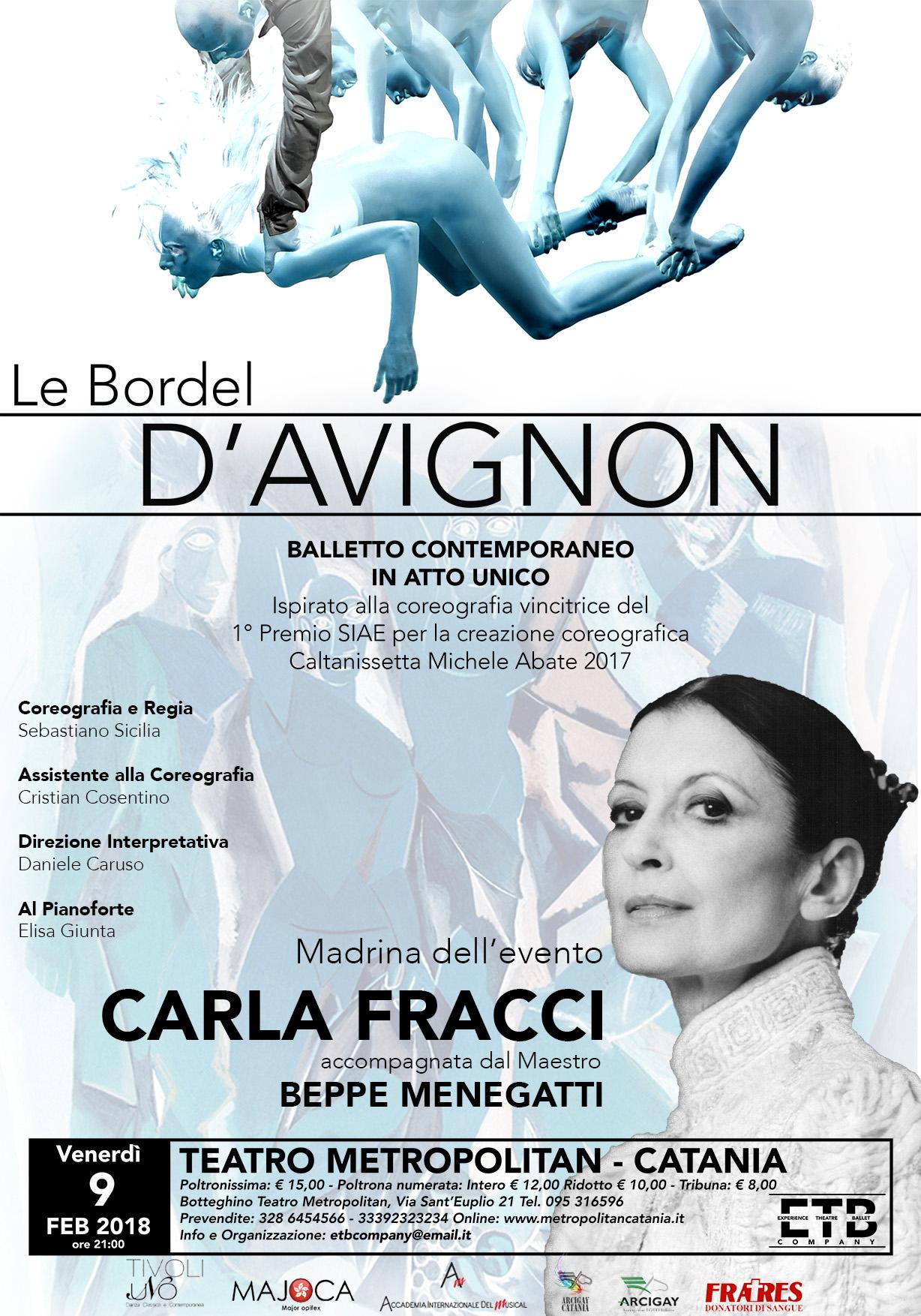 LE BORDEL D'AVIGNON - Balletto contemporaneo