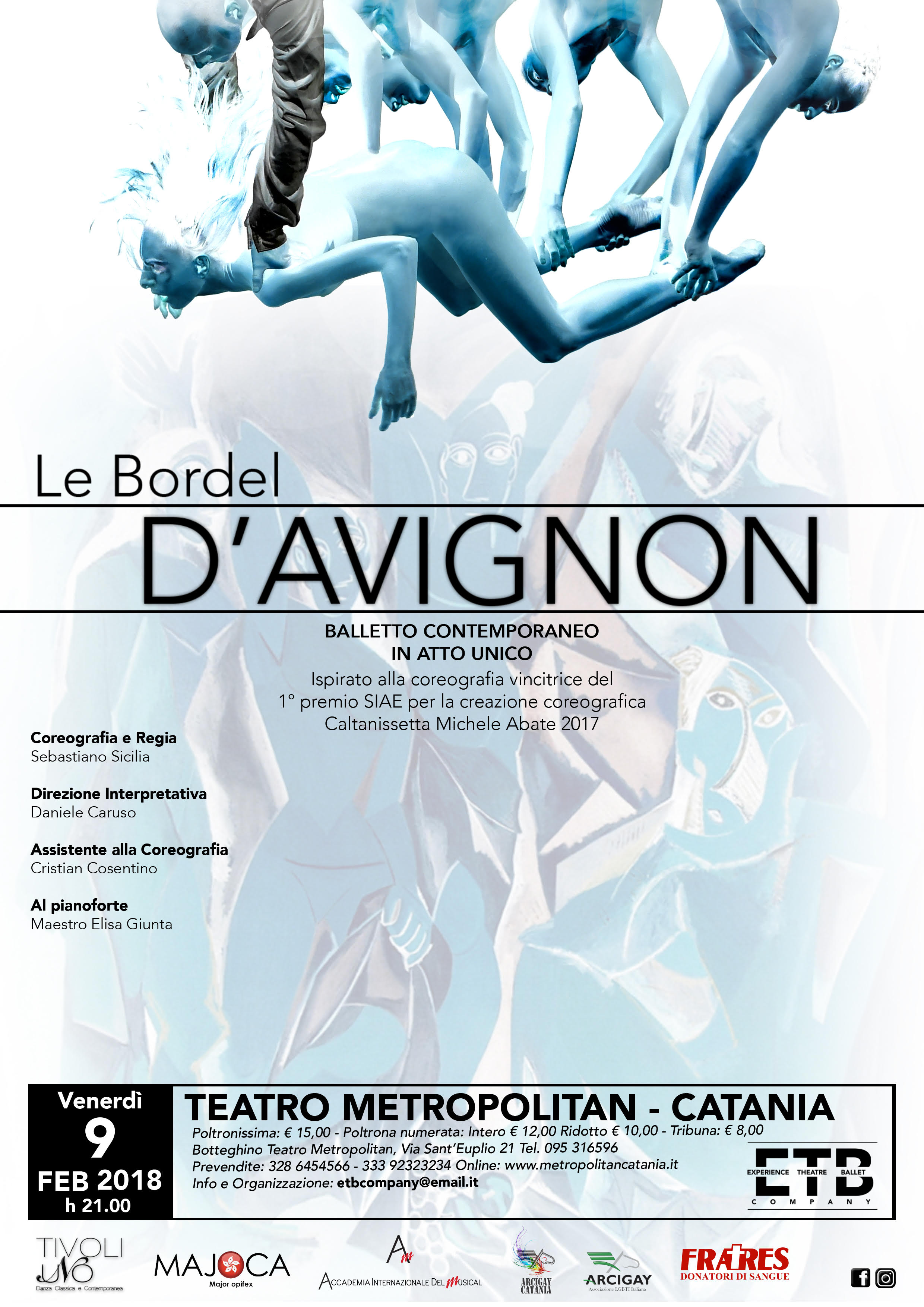 LE BORDEL D'AVIGNON - Balletto contemporaneo