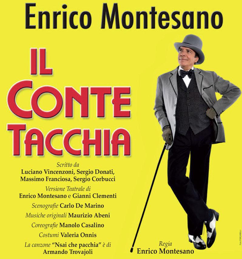 ENRICO MONTESANO - IL CONTE TACCHIA
