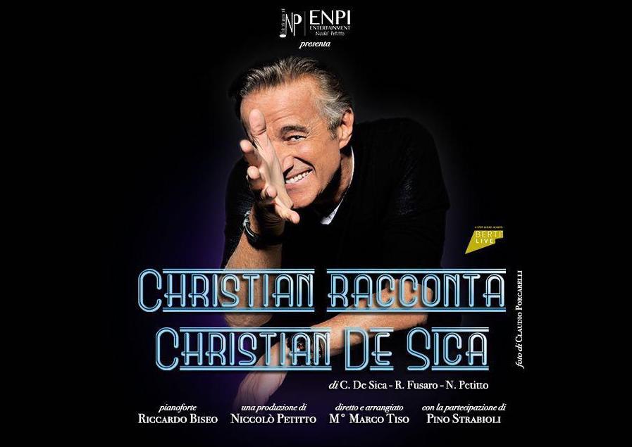 Christian De Sica - SPETTACOLO RINVIATO al 18 Gennaio 2020