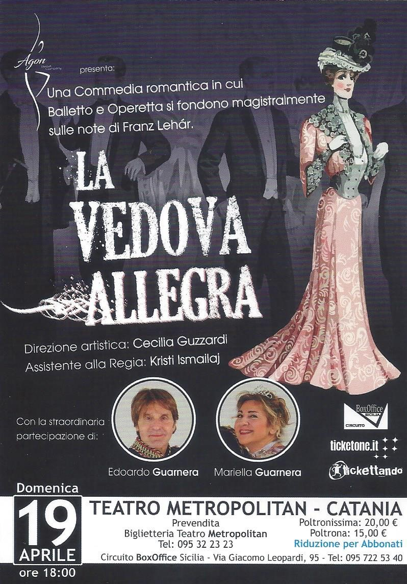 LA VEDOVA ALLEGRA - IL BALLETTO