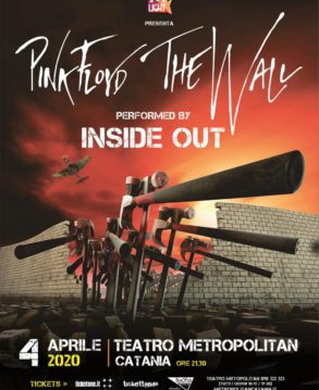 THE WALL TRIBUTO PINK FLOYD - INSIDE OUT